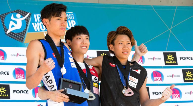 日本勢の好調続く。2人の10代が初表彰台へ/ボルダリングW杯第5戦 米国・ベイル大会