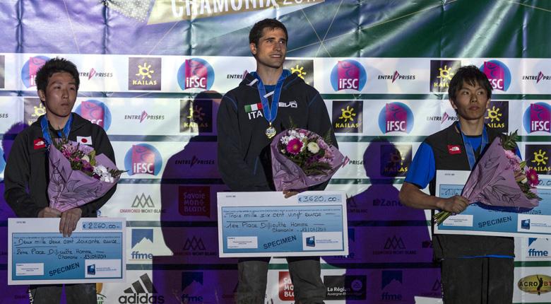 是永が2位、波田が自身初の3位に/リードW杯第2戦 フランス・シャモニー大会