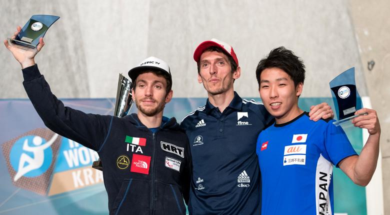 是永敬一郎が年間3位、楢崎智亜が複合で年間優勝/リードW杯最終第8戦 スロベニア・クラーニ大会