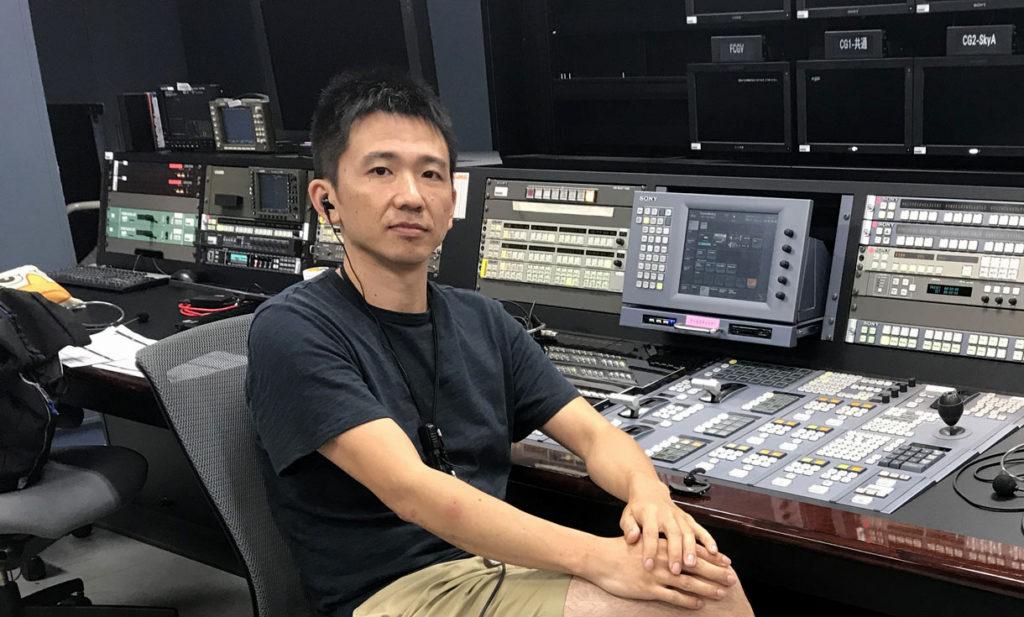 上倉 享(日本スポーツクライミングカウンシル運営・クライミング大会中継エンジニア)