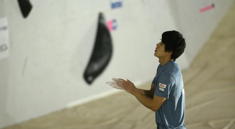 男子予選、2連覇中の藤井快らが首位通過/第13回ボルダリングジャパンカップ