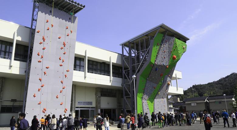 """""""クライミングの聖地""""を目指す鳥取県に、3種目整備の「倉吉スポーツクライミングセンター」が誕生"""