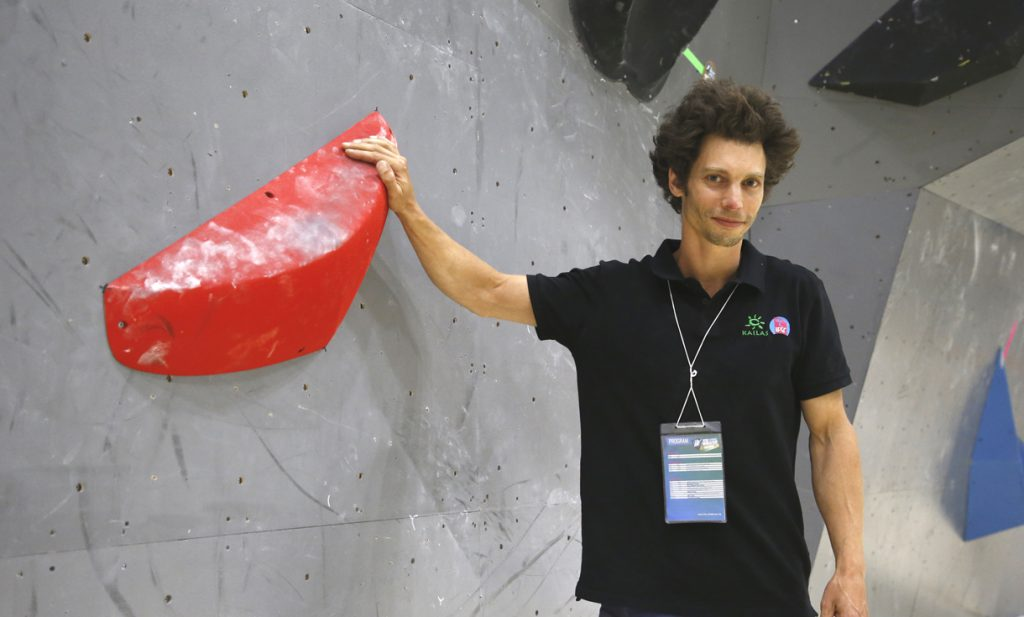 マヌエル・ハスラー(IFSC国際ルートセッター/『flathold』創設者)
