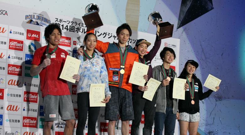 野中生萌、石松大晟が初優勝!/第14回ボルダリングジャパンカップ