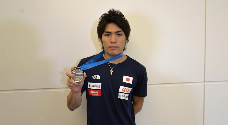 楢崎「より本能的に、感じながら登っている」森「夢なのかと思った」。ボルダリングW杯第4戦を終え、日本代表が帰国