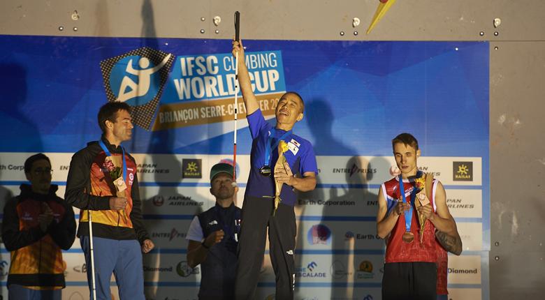 パラも強い!パラクライミング世界選手権2019で小林幸一郎が4連覇。日本勢7個のメダルを獲得