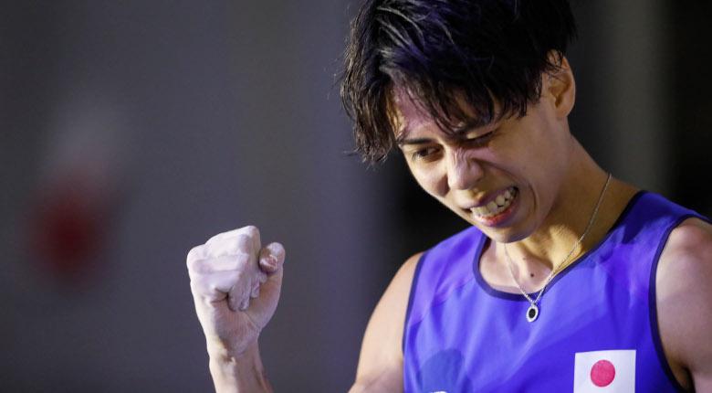 原田海「自分の登りをするだけ」。コンバインド男子予選後の選手コメント/IFSCクライミング世界選手権2019八王子
