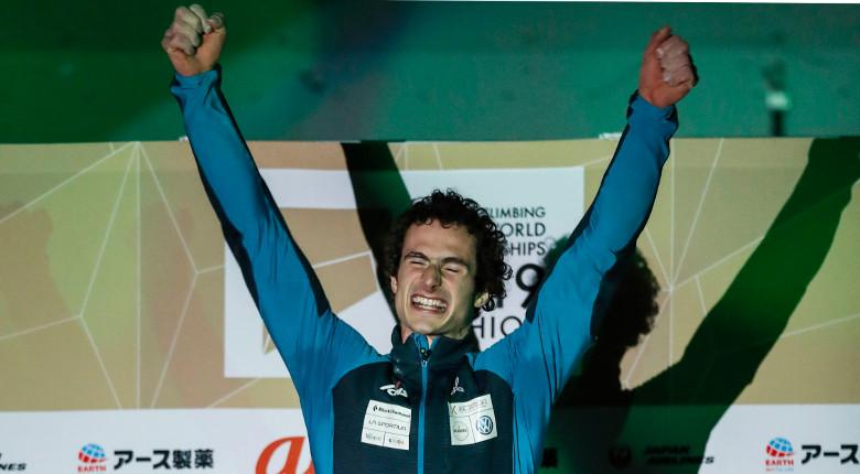 オンドラ「自分自身を騙して挑んだ」。リード男子決勝後の選手コメント/IFSCクライミング世界選手権2019八王子
