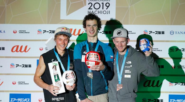 アダム・オンドラが3度目V。楢崎4位、原田7位/IFSCクライミング世界選手権2019八王子【リード男子決勝】
