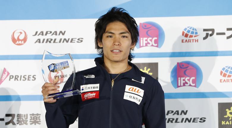 楢崎智亜が1位でフィニッシュ/W杯2019シーズン複合ランキング