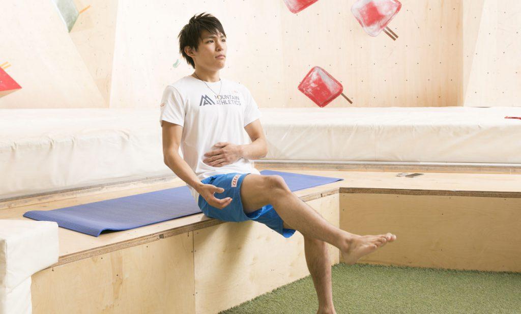 ボルダリング世界王者・楢崎智亜の簡単エクササイズ講座