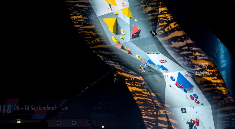 クライミングW杯インスブルック大会の中止が決定