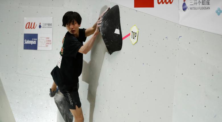 天笠颯太、石松大晟が躍動 ボルダリングジャパンカップ2021【男子準決勝】